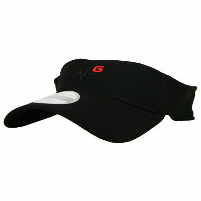 94619fc1a42 New Era Golf Tee 1.0 Visor Player Cap Hat Adjustable Lightweight White or  Black