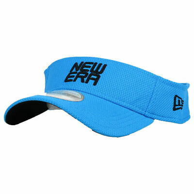 31aec46a8b9 New Era Golf 1.0 Stacked Visor Cap Hat Lightweight Breathable Light Blue  Black