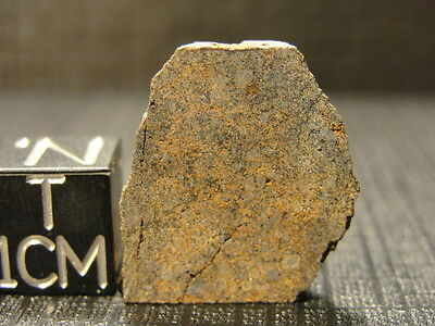 NWA 6332 Official Meteorite H5 Chondrite - G072-0006 - 5.69g w/COA - Double End