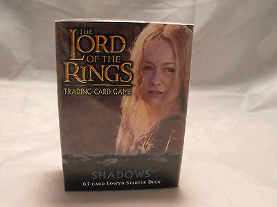 Lord Of The Rings Tcg Shadows Sealed Eowyn Starter Deck