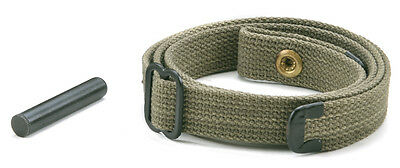 USGI WW2 .30 M1 CARBINE SLING and OILER Dark OD Green