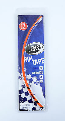 "ORANGE Motorcycle Rim Tape for 17"" Wheels  Streetfighter S 1098 2013 R&G Racing"