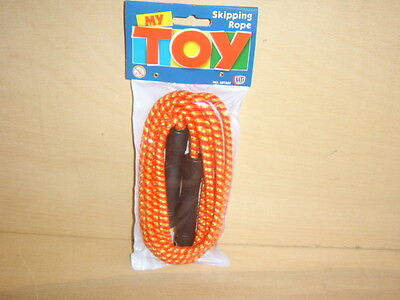 6 packs of Children's Skipping ropes.7 foot long.New in sealed packs.Free Post