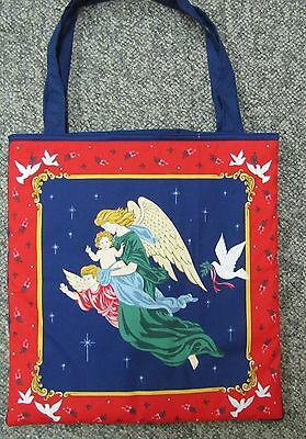 Awesome new tote hand bag grocery gift angel heaven dove baby children