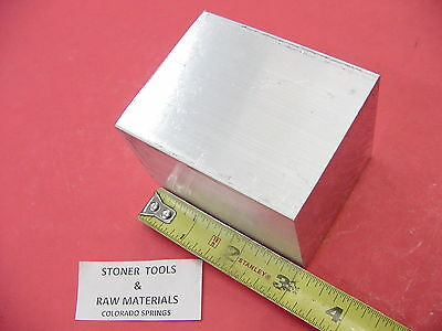 "2-1/2"" X 2-1/2"" ALUMINUM 6061 SQUARE SOLID FLAT BAR 3"" long T6511 Mill Stock 2.5"