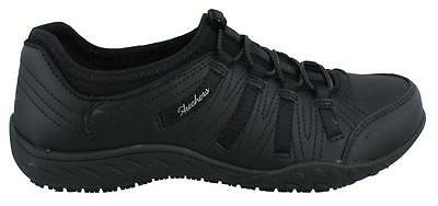 Skechers Rodessa Slip Resistant  Shoe Leather Womens Work And Uniform Shoes