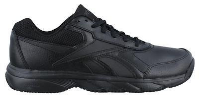Reebok  N Cushion  Sneaker Wide Width Leather Mens Work And Uniform Shoes