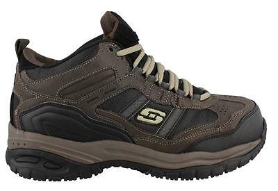 Skechers Soft Stride Canopy  Shoe Leather Mens Work And Uniform Shoes