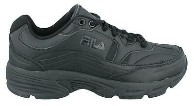 Fila shift Memory Foam  Shoes Leather Mens Work And Uniform Shoes