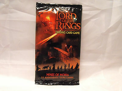 Lord Of The Rings Tcg Mines Of Moria Sealed Booster Pack Of 11 Cards