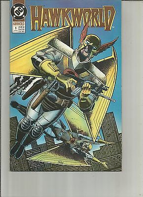 Hawkworld #1,2,3, ( 1990, DC) First 3 issues of series,  a12