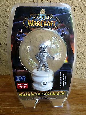 2005 World of WarCraft Chess Collection Rook Castle Chess Piece NEW SEALED