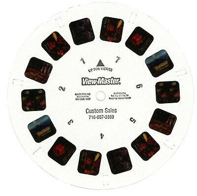 viewmaster Promotional Reel Custom Made Reels - 2008 Last One Before Plant Close