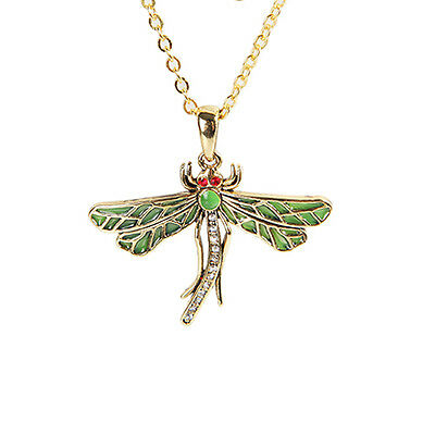 DRAGONFLY Dragonflies Mystica Dragon Fly Necklace Pendant Jewelry