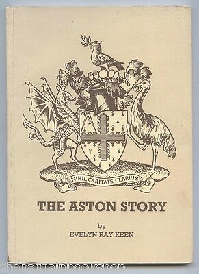 THE ASTON STORY - HISTORY OF ASTON CHARITIES by Evelyn Ray Keen - 1st - SIGNED