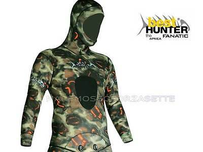 MUTA SUB BEST HUNTER 5mm MIMETICA BIFODERATA  MEDIUM WETSUIT COVERED INSIDE