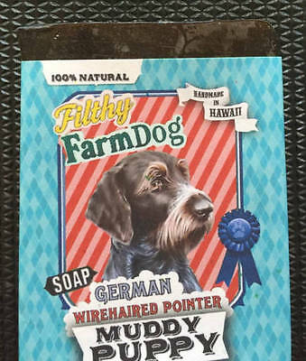Collect German Wirehaired Pointer Items? / Bar Of Dog Soap /  Unique Gift