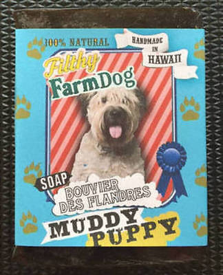 Collect Bouvier Des Flandres Items? / Bar Of Dog Soap / Unique Gift  All Natural