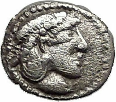 SYRACUSE in SICILY 475BC Silver Litra NYMPH Arethusa Silver Greek Coin i55616
