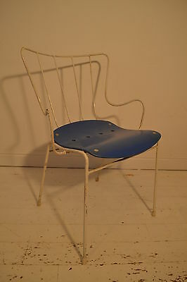 Stunning Vintage Ernest Race Festival Of Britain Antelope Chair