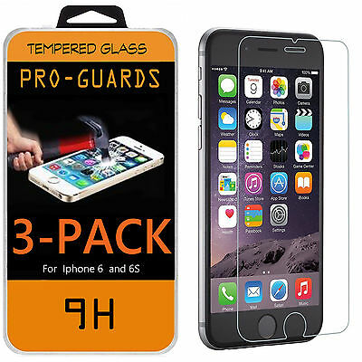 "New Premium Real Tempered Glass Film Screen Protector for Apple 4.7"" iPhone 6S"