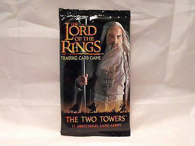 Lord Of The Rings Tcg Two Towers Sealed Booster Pack Of 11 Cards