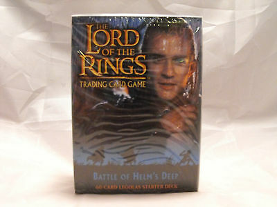 Lord Of The Rings Tcg Battle Of Helm's Deep Sealed Legolas Starter Deck