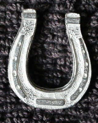 10 Lucky Horse Shoes! Lead Free Pewter Pocket Good luck Tokens