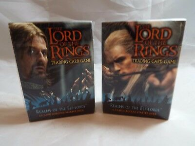Lord Of The Rings Tcg Realm Of The Elf-Lords Sealed Boromir Starter Deck