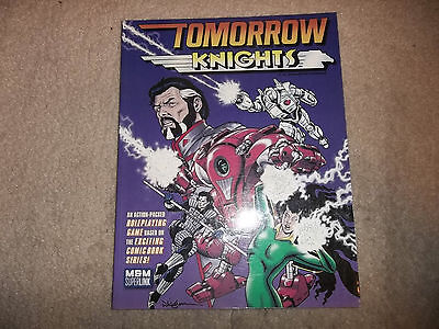 Mutants and Masterminds Tomorrow Knights