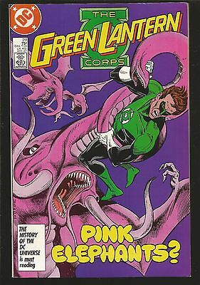 The Green Lantern Corps #211 (Apr 1987, DC) g7