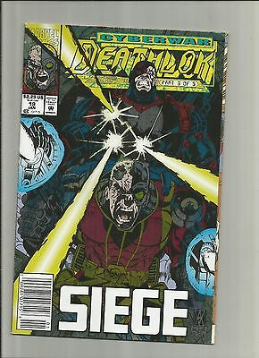 Deathlok #19 (Jan 1993, Marvel)Siege (Cyberwar part 3 of 5) f40