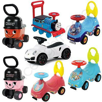 Kids My First Ride On & Walker Age 1+ Thomas, Paw Patrol, Peppa + More! Free P+P