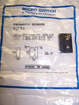 New Honeywell Micro Switch 52Fr1 Reed Proximity Sensor