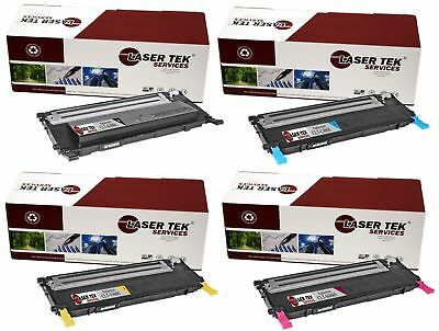 4PK CLT-406S Replacement Toner Cartridges for the Samsung CLP-365W, CLX-3305FW