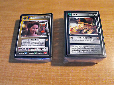 Star Trek Ccg Rules Of Acquisition Complete Master Set