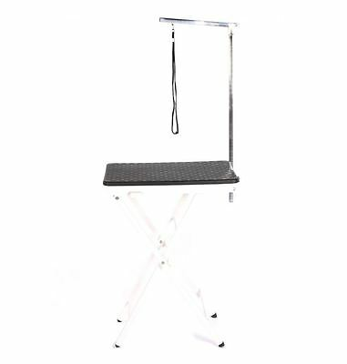 dog cat pet grooming mobile portable show exhibition competition table + arm bl