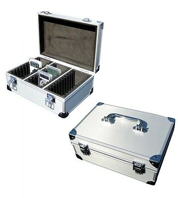 Aluminum Storage & Display Box Or Case For 30 Pcgs Or Ngc Certified Or Slab Coin
