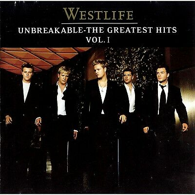 Westlife ( New Sealed Cd ) Unbreakable The Greatest Hits Volume 1 / Very Best Of