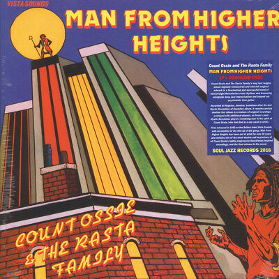 Count Ossie & The Rasta Family - Man From High (Vinyl LP - 2016 - UK - Original)