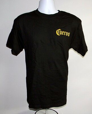 New Mens Jose Cuervo Nation Tequila T Shirt Large Black