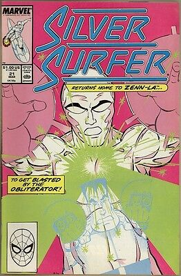 Silver Surfer (Vol. 2) #21 - VF+
