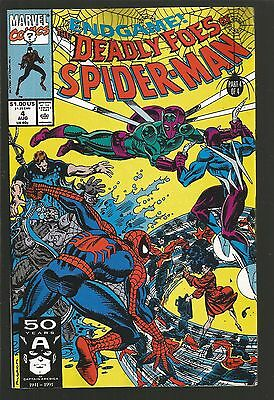 Deadly Foes of Spider-Man #4 (Aug 1991, Marvel) f15
