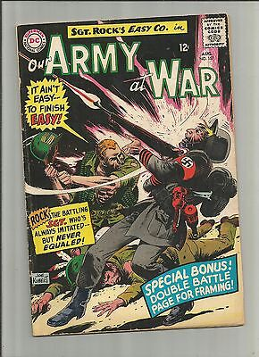 Our Army at War #157 (Aug 1965, DC) Sgt. Rock ,g36