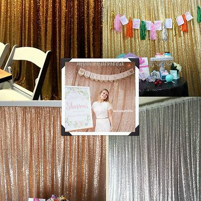 4ft x 7ft Sequin Backdrop Photography Backdrop Background for Christmas Wedding