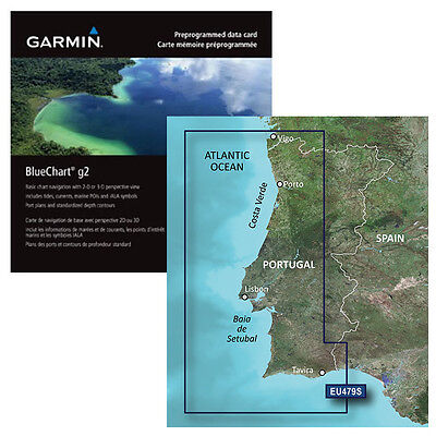 GARMIN Bluchart G2 - Portogallo -SD/MICRO SD ART. 010-C0823-20
