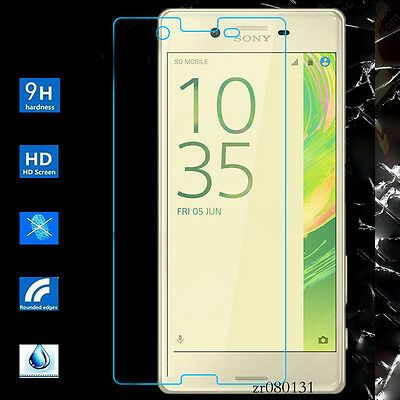 Tempered Glass Screen Protector Guard For Sony Xperia X Performance F8132 F8131