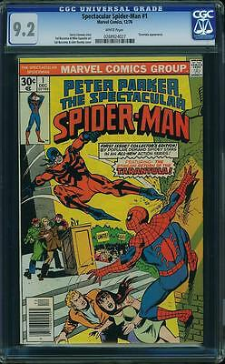 Peter Parker The Spectacular Spider Man  #  1  Marvel 1976  Cgc 9.2 Nm