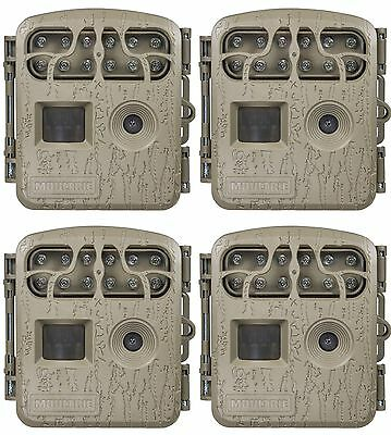 4-Pack Moultrie Spy Micro Infrared Trail Hunting Game Cameras | 4 x MCG-13034