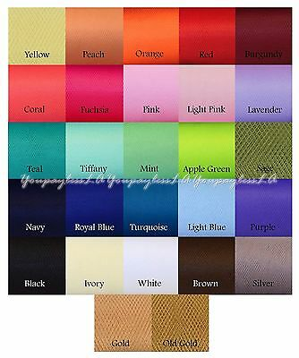 Tulle Bolt 54 in x 40 yard (120 ft) Weddings Party Tutu Fabric Nylon Pew Craft